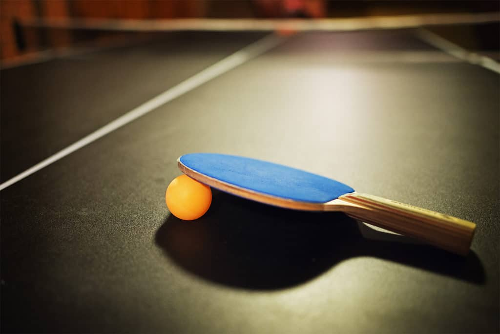 best table tennis table reviews