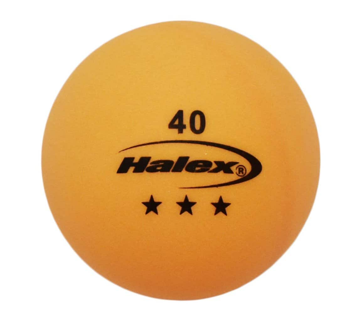 Halex Fusion 3-Star Table Tennis Balls