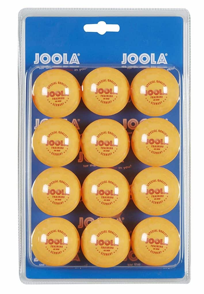 JOOLA 40mm 3-Star Table Tennis Training Balls