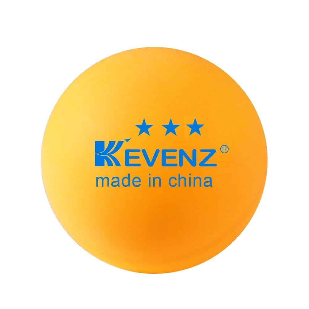 KEVENZ 3-Star Plus 40mm Orange Table Tennis Balls