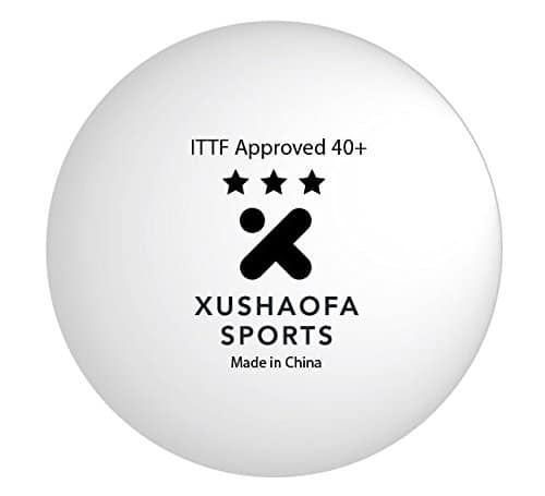 Xushaofa Seamless Poly Table Tennis Balls