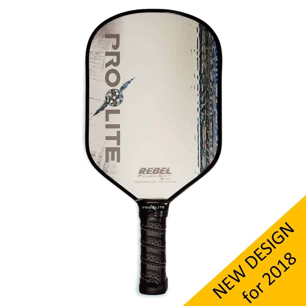 Pro-Lite Rebel PowerSpin Composite Pickleball Paddle