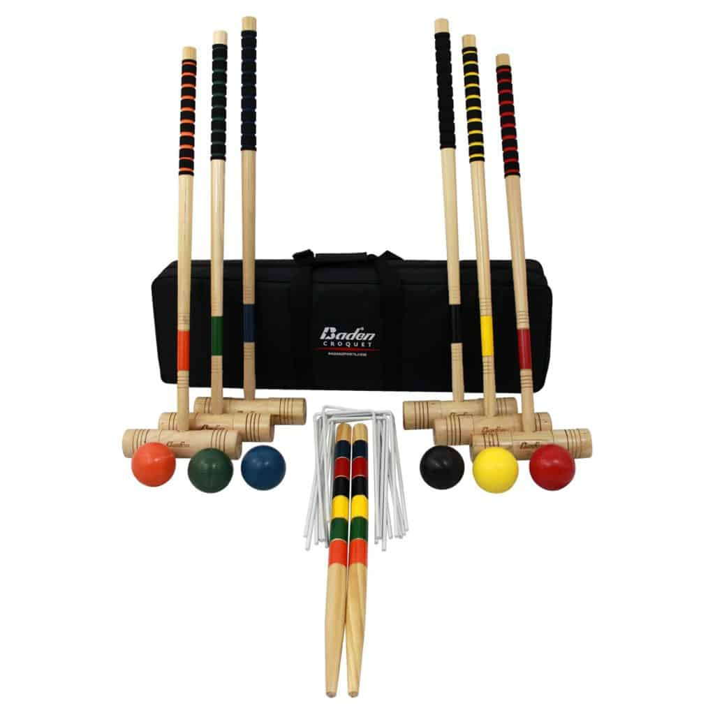 Baden 6-player Champions Croquet Set