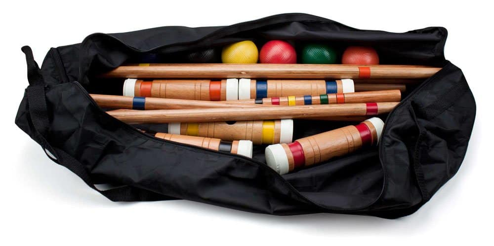 Crown Sporting Goods Deluxe Croquet Set