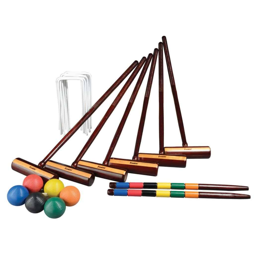 Franklin Sports 6 Player Croquet Set