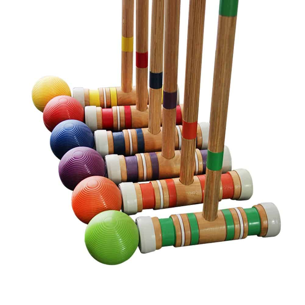 MAGGIFT Six Player Croquet Set