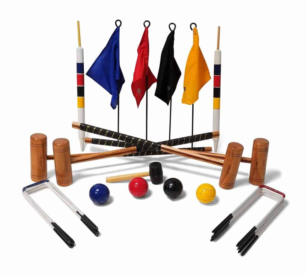 Uber Games 9 Wicket Croquet Set