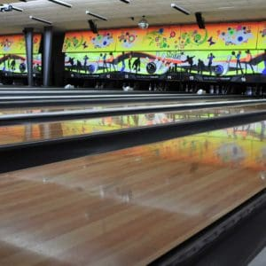 Oil On Bowling Lanes