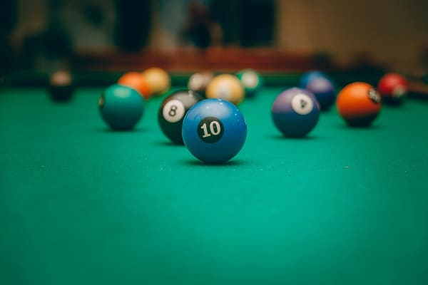 Billiard Ball Colors