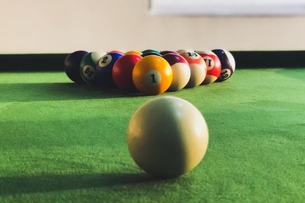 How to Clean Billiard Balls