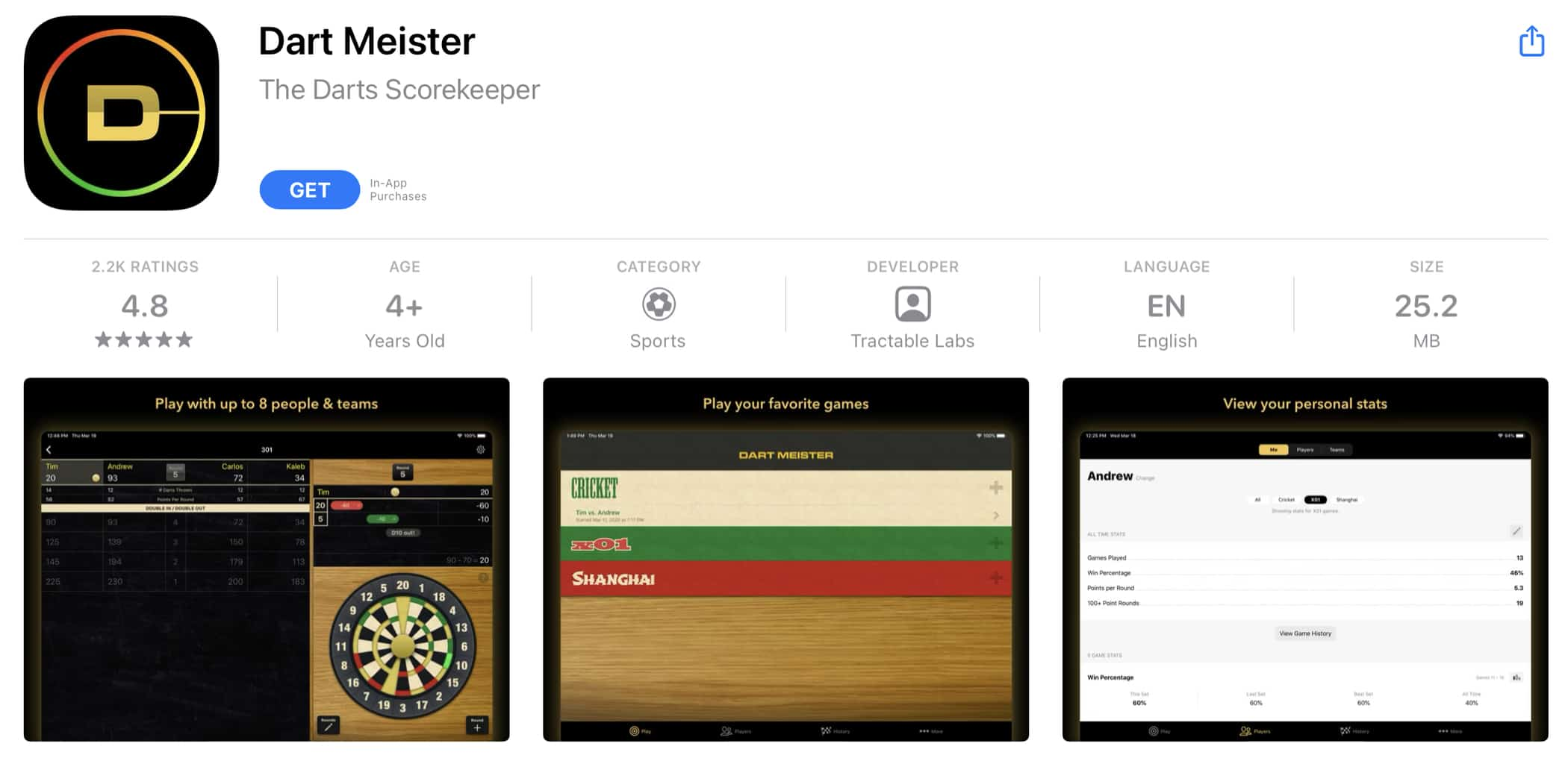 Dart Meister Review