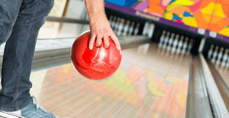 How to Hold a Bowling Ball